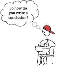 How do you write a conclusion sentence?