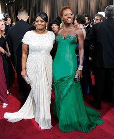 Style and Beauty and TALENT! Black Girl Magic, Black Girls, Black Women, Sexy Women, Streetwear, Octavia Spencer, Oscar Fashion, Women's Fashion, Viola Davis