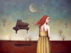 from Tori Amos RAINN calendars, art by Duy Huynh