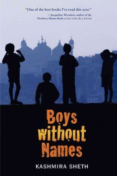 Boys without names by Kashmira Sheth.  Click the cover image to check out or request the teen kindle.