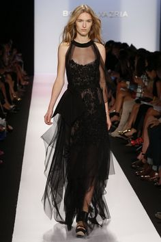 The BCBG Max Azria 2014 RTW Spring Collection Brought a Unique Flair to the Runway