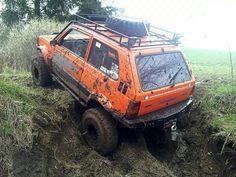 Fiat Panda 4x4 off-road !!