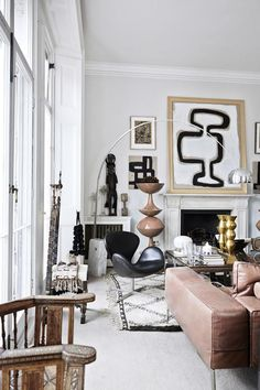 Arne Jacobsen | my scandinavian home: The striking, eclectic home of Malene Birger