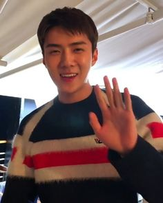 can he just stop killing me this evening Kpop Exo, Suho Exo, Exo K, Cute Baby Smile, Cute Babies, Exo 2014, Sehun Cute, Boyfriend Pictures, Baby Smiles