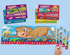 Alphabet Sequencing Puzzles - Complete Set at Lakeshore Learning