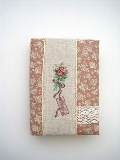 Creation Point de Croix cross stitch hand made notebook Veronique Enginger блокнот ручной работы вышивка крестиком