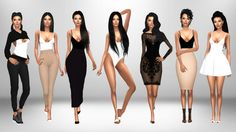 Bodysuit Outfit Ideas pt. 2Featuring this [xxx] bodysuit by @bellaisadellima 1. • Hair [xx] - @leahlillith • Cropped Hoodie [xx] - @beverlyhillssims • Pants [xx] - @chisimi • Shoes [xx] - @dreamteamsims 2. • Hair [xx] - @darkosims3 • Pants [xx] -...