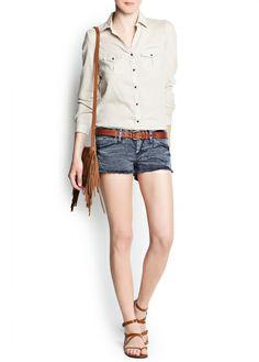 Camisa algodão saara