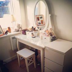 IKEA malm dressing table ❤️ vanity table