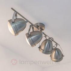 4-flammiger LED-Deckenstrahler Jella sicher & bequem online bestellen bei Lampenwelt.de.