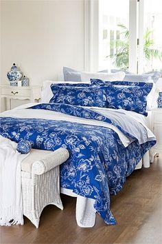 Buy Bedding Online at EziBuy   Bed linen includes sheet sets, duvet covers, blankets, quilts - Heather Duvet Cover Set