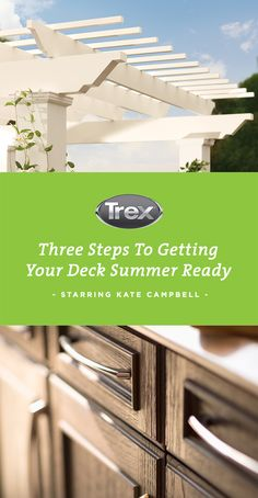 Celebrity carpenter Kate Campbell knows a thing or two about outdoor living. Learn her tips for prepping a deck for the grillin' and chillin' days of summer at Trex! Large Bathroom Mirrors, Small Bathroom Interior, Black Vanity Bathroom, Bathroom Wall Shelves, Large Bathrooms, Kate Campbell, Sliding Wall, Beach Bathrooms, Outdoor Seating Areas
