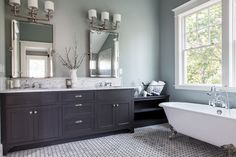 Elegant Master Bath - traditional - Bathroom - Portland - Northwest Heritage Renovations