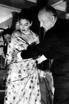 Ava Gardner & Dior