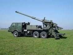 NORA-B/52 Self Propelled Gun-Howitzer, Serbia.