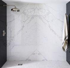 Shower Wall? White Statuario Bathrooms   Google Search