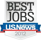 Best Jobs Ranked by Industry 2012