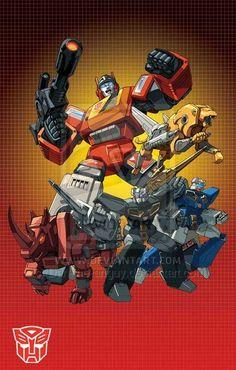 Blaster groupshot by Dan-the-artguy.deviantart.com on @deviantART