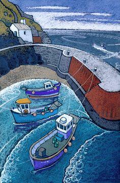PORTHGAIN - CHRIS NEALE landscape artist