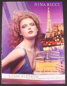 Magazine Ad for Love In Paris Fragrance Perfume, Nina Ricci, Eiffel Tower, 2004 Perfume Scents, New Fragrances, Perfume Bottles, Beauty Ad, Timeless Beauty, Anuncio Perfume, Nina Ricci Parfum, Parfum Victoria's Secret, Perfume Adverts