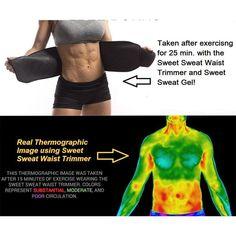 Sweet Sweat Premium Sauna waist Belt + Free Sample Packet - Natural Remedy Cure