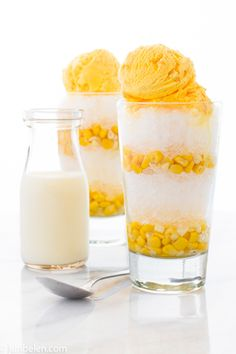 Maiz con Hielo  (Corn with ice) ~ Filipino cuisine. One of my favorites