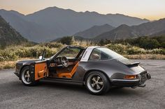 Pictures and information on the first Porsche 911 Targa reimagined by Singer Vehicle Design