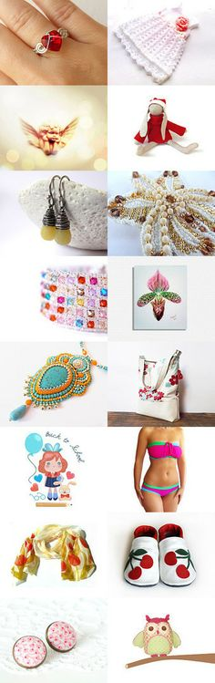 spring favorites in Europa by Piros on Etsy--Pinned with TreasuryPin.com