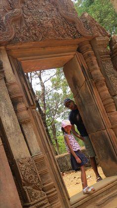 Banteay Srei, 10th century & 21st Century