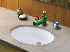 Super Mario Bathroom Sink Fixtures