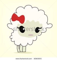 cute lambs hand painted - Google Search