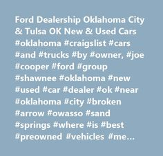 Ford Dealership Oklahoma City u0026 Tulsa OK New u0026 Used Cars #oklahoma #craigslist #  sc 1 st  Pinterest & 2004 #Ford #Explorer for parts only! Searching for used car parts ... markmcfarlin.com