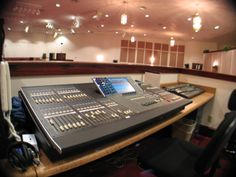 Yamaha 48 channel mixer provided by CSD to New Beginnings Church