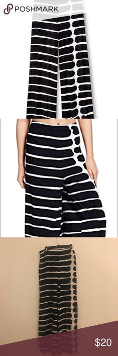 Marimekko for Target - Women's Palazzo Pants Tags still on! Never worn! Marimekko for Target Palazzo Pants with black and white stripes. 100% Rayon. Originally purchased at Target. Marimekko Pants Wide Leg