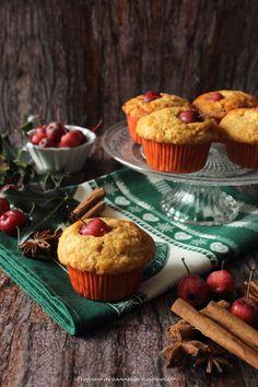 Profumo di cannella e cioccolato: Muffins mela e cannella