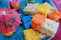 Luau Rice Krispie Treats*