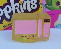 SHOPKINS-SEASON-2-2-022-YELLOW-ZAPPY-MICROWAVE-CRYSTAL-GLITZ-ULTRA-RARE mine all mine