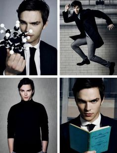 Nicholas Hoult. So awkward cute. I guess I have a hard on for book nerdz too...