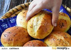Minichlebíčky pro trpaslíčky recept - TopRecepty.cz 20 Min, Dumplings, Potatoes, Bread, Vegetables, Food, Pizza, Potato, Brot