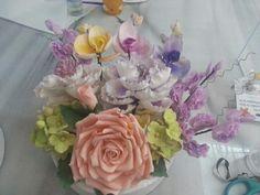 Şekerden çiçeklerim
