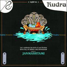 Happy Janmashtami, Krishna Janmashtami, R 11, Lord Krishna, Lets Celebrate, Festivals, Let It Be, Movie Posters, Movies