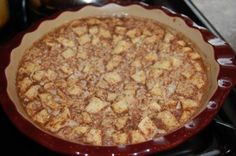 Baked Oatmeal with Apples and Cinnamon