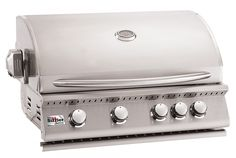 """Summerset Grills 32"""" Summer Sizzler Stainless Steel Built-in Grill   seattleluxe.com"""