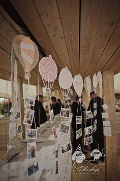 Map/balloon garland with pics?