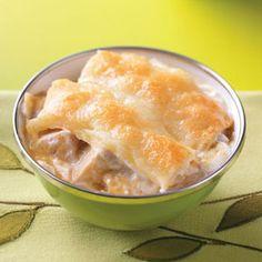 Chicken Enchilada Bake Recipe from Taste of Home