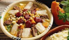 Cozido de Grão à Moda do Algarve | As Receitas de Portugal Algarve, Hummus, Carne, Acai Bowl, Oatmeal, Dishes, Chicken, Meat, Breakfast