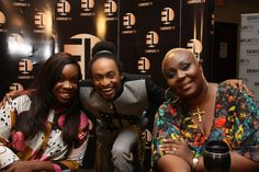 Mo's Search Audition Day Judges Bobby Taylor, Derenle Edun and Pam Ofoegbu having a fun time in front of the camera. Judges, Random Pictures, Fun Time, Bobby, Good Times, Tv, Search, Television Set, Searching