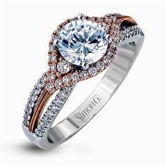 MR1815 Engagement Ring | Simon G. Jewelry