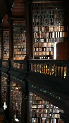 The Long Room, Trinity College Dublin, Ireland.