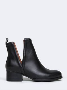 """- Brand: Jeffrey Campbell - Style: Ankle Booties - Color: Black - Material: Genuine Leather - Heel Height: 1.5"""" oriley"""